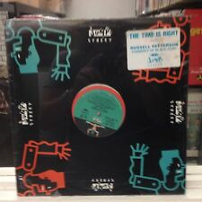 """[SOUL/FUNK]~SEALED 12""""~RUSSELL PATTERSON~The Time Is Right~[x5 Mixes]~1989"""