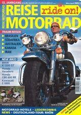 RM0302 + Test BMW K 1200 GT + HONDA XL 1000 V Varadero + REISE MOTORRAD 2 2003