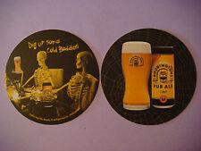 2004 Beer Coaster ~**~ Samlesbury BODDINGTONS Pub Ale ~ Preston, ENGLAND ~ BONES
