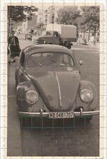 Foto Pkw Volkswagen Vw Brezel Käfer und Lkw Kennung West-Berlin 50er Jahre