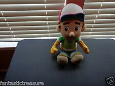 LARGE DISNEY STORE MANUEL ESTEVEZ HANDY MANNY GARCIA PLUSH DOLL FIGURE REPAIRMAN