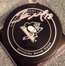 James Neal Signed Official Pittsburgh Penguins Game Hockey Puck
