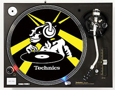 TECHNICS ALIEN - DJ SLIPMATS (1 PAIR) SL1200's MK5 MK2 M3D or any turntable