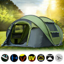 Hydraulic 4 Person Camping Automatic Pop Up Tent Waterproof Outdoor Hiking Tool