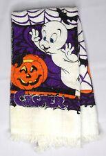 Vintage 90s Casper the Friendly Ghost Hand Kitchen Towel Halloween Decor Pumpkin