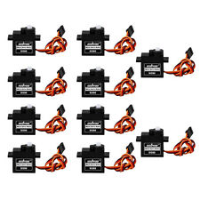 10pcs SG90 9G Micro Servo Motor For 6CH RC Helicopter Airplane Controls Arduino