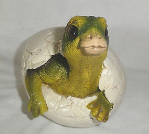 Windstone Edition Hatching Baby Maiasaur Dinosaur Egg 1989 RARE