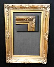 Prunkrahmen Stuckrahmen um 1900. Antiker Bilderrahmen 57,5x36,5cm oder 39,5x61,5