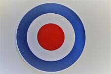 RAF ROUNDEL TARGET  BACK PATCH MODS SCOOTERS  SEW - IRON ON PATCH NEW