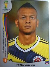 Panini 195 Fredy Guarin Kolumbien FIFA WM 2014 Brasilien