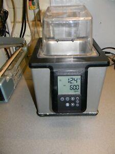 "Polyscience WB02 2 Liter Water Bath W Cover, 3.9 x 4.3 x 6"" Bath Size"
