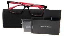 NEW D&G Dolce & Gabbana DG 3245 3004 TOP HAVANA/FUXIA EYEGLASSES 52-17-140 B36mm