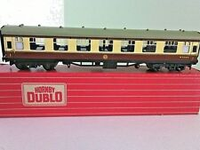Triang Hornby Train Coach 1st Class WR Open Corridor 00 Scale Rail Car Dublo Set