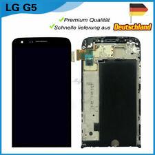 Display Für LG G5 H850 LCD Touchscreen Scheibe Glas Ersatz mit Rahmen Schwarz