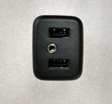 USB Aux Input black plug module from center console for many GM vehicles.OEM car