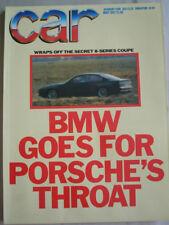 Car May 1987 BMW M3, Astra GTE 2.0 vs Golf GTi vs XR3i