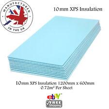 XPS Thermal  INSULATION BOARDS Floor Underlay & Underfloor Tile Heating 10mm