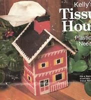 House Tissue Box Cover Plastic Canvas Pattern