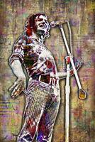 JOE COCKER 12x18inch Tribute Poster Joe Cocker Woodstock Print Free Shipping Us