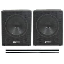 QTX Sound Active Performance & DJ Subwoofers