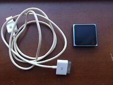 Apple iPod nano 6th Generation Blue (16GB) Excellent Condition