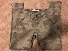 Women's Abercrombie and Fitch Camo Jean Leggings Sz 4