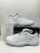 Jordan 11 Retro Low Legend Blue GS 528896-117 - IN HAND READY TO SHIP