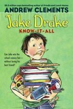 Jake Drake, Know-It-All, Clements, Andrew,1416939318, Book, Good