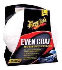 "Meguiar's 5"" Even Coat Microfiber Swirl Free Polish & Wax Applicator Pads 2 Pack"