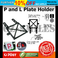 Plate Holder Red & Green p 1pc Strong Yellow L Fit Most Vehicles