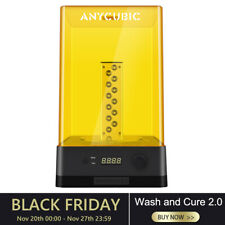 ANYCUBIC Wash and Cure Machine 2.0 for LCD SLA 3D Printer Photon 405nm UV-Light