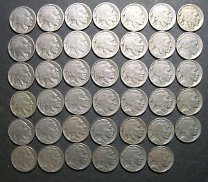 1913-1938  Buffalo Nickel collection w/ all different dates