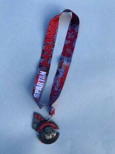 Spartan Race Trail Run Oahu Hawaii Medal 5k Trifecta Sprint Finisher +Wedge 2021