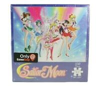 "Sailor Moon Super S 550 Piece 18"" x 24"" Jigsaw Puzzle Gamestop USAopoly"