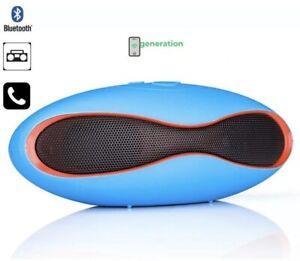 SPEAKER CASSA ALTOPARLANTE BLUETOOTH USB Mini X6 Micro SD Radio Portatile