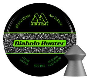 Air Arms Diabolo Hunter .22 / 5.5mm Diablo Pest Control Domed Air Pellets