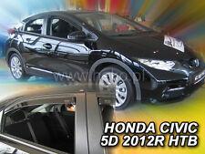 Honda Civic 2012 HATCHBACK 5.doors Wind deflectors 4.pcs   HEKO  17163