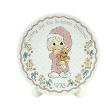 Precious Moments Wishing You The Sweetest Christmas 1993 Collector Plate #251364