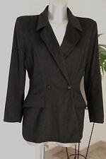 jolie veste noire chaude MUGLER T 40 en très bon état