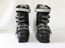 Saloman Performa 5.0 Ladies Downhill Ski Boots Black Size 6.5 Mondo 24 Used