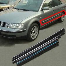 ABS Black Door Molding Trim Door Side Body Trim for Volkswagen Passat B5 01-2006