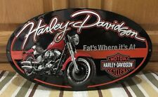 Harley-Davidson Motorcycles Motor Oil Can Metal Bike Helmet Oil Vintage Style 7