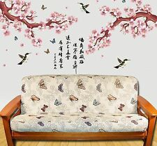 NEW - Colorful Butterflies & Flowers FUTON COVER - Full Size - Floral Butterfly