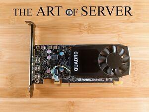 NVIDIA Quadro P400 Graphics card GPU 2GB GDDR5 PCIe 3.0 x16 great for PLEX