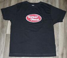 'Suckin' Diesel' Mens LRG T Shirt by Hairy Baby IMPORT Ireland HUMOR SLANG IRISH