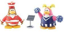 Disney Club Penguin CHEERLEADER & MARCHING * Series 3 Mix Match FIGURES New Code