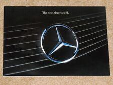 1990 MERCEDES BENZ SL (R129) Sales Brochure 500SL 300SL-24