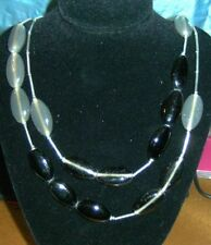 Oval Stone Beaded Costume Necklaces & Pendants