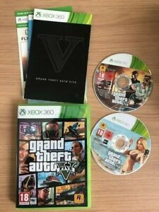 Grand Theft Auto V Game XBOX 360 - Very Good Condition