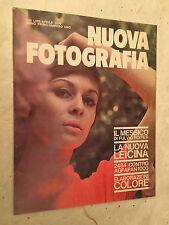 RIVISTA NUOVA FOTOGRAFIA N.1 4/1970 MESSICO FULVIO ROITER LEICINA AGFAPAN 1000